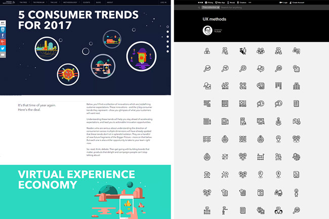 The Noun Project and Trendwatching