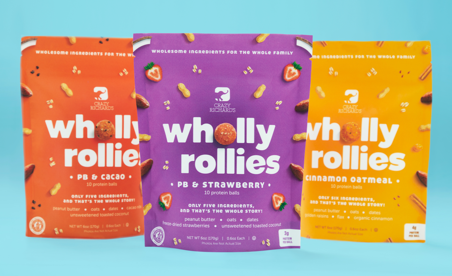 Wholly Rollies final packaging design