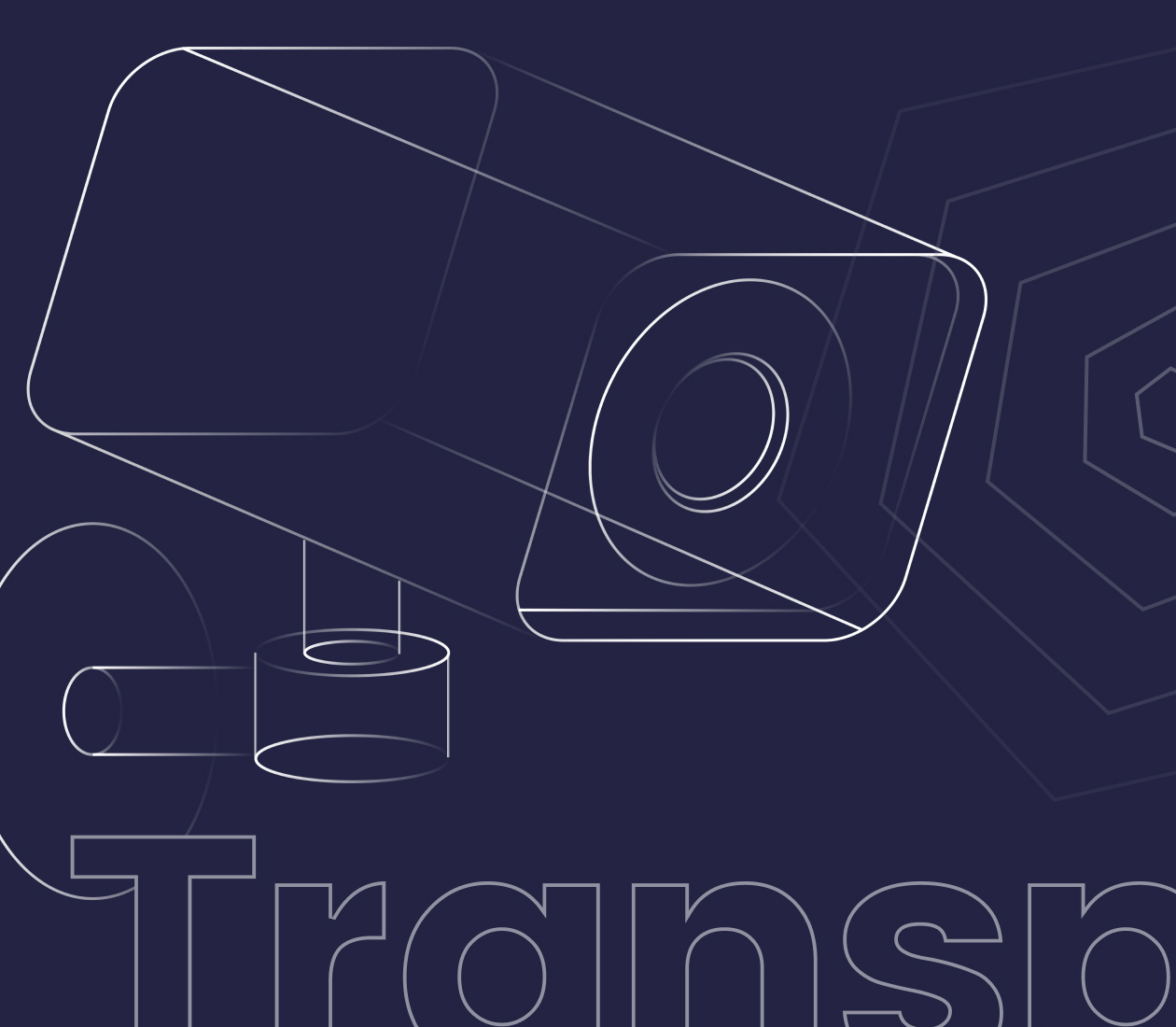A security camera in Finite State's illustration style
